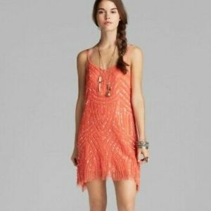 Free people NWTS Seguin Tulle dress